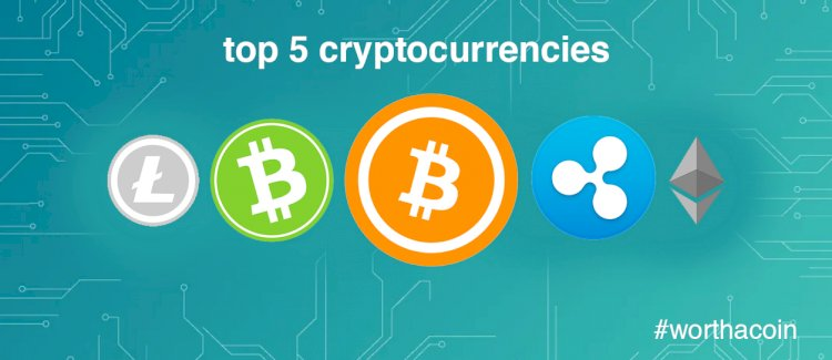 Which Are The Top 5 Cryptocurrencies By Market Cap?