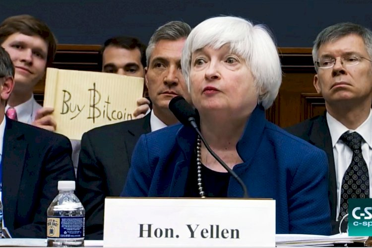 Seeing Cryptocurrencies Used Mainly For Illicit Financing, Janet Yellen Reveals Plans For Bitcoin